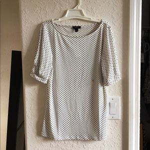 Ann Taylor polka dot top